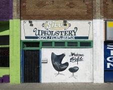 Silva Upholstery, Pico Boulevard, Los Angeles, chromogenic print