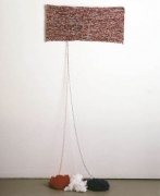 Untitled 1986 Acrylic wool