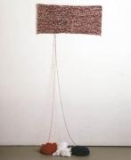 Untitled 1986 Acrylic wool