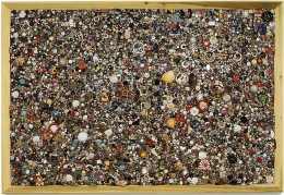 Mike Kelley, Memory Ware Flat #35, 2003Mixed Media52.25 x 76.25 inches (132.7 x 193.7 cm)