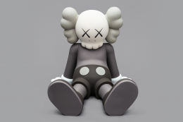 KAWS HOLIDAY (2) 2020 aluminum, paint