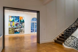 Installation View Kippenberger Portrait