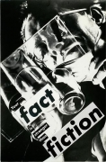 Barbara Kruger, Untitled (Your fact is stranger than fiction), 1983