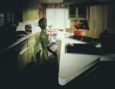 Laurie Simmons, Green Kitchen, 1982