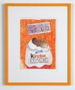 Martin Kippenberger, Untitled, 1995Felt pen8 x 5.3 inches (20.3 x 13.5 cm)