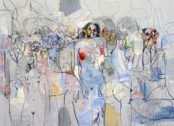 George Condo, Spatial Figures, 2010