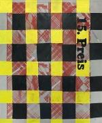 """Martin Kippenberger, 15 Preis, 1987oil, acrylic, and silkscreen on muslin 71"""" x 59"""""""