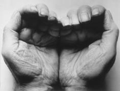 John Coplans Self Portrait (Double Hand, Front)  1988