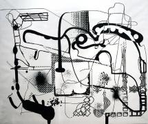 Albert Oehlen, Untitled, 1992
