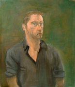 Albert Oehlen  Self-Portait with Open Mouth, 2001