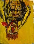 Georg Baselitz, Orangenesser (Orange Eater), 1981