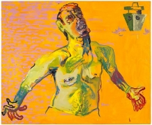 Martin Kippenberger, Untitled (from the series The Raft of Medusa), 1996oil on canvas, 59.06 x 70.87 inches (150 x 180 cm)© …