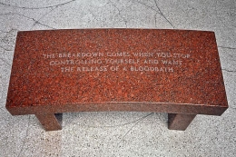 Jenny Holzer, Survival: The breakdown comes when..., 1989