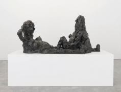 George Condo Reclining Figures, 2009-2014 Bronze Sculpture
