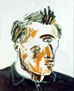Albert Oehlen  Ich seh Dich I, (Selbsportrait: Einauge), 1983