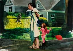 Eric Fischl  My Old Neighborhood: Red Balloon