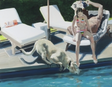 Eric Fischl  Daddy's Girl Age 11, 2017