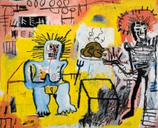 Jean-Michel Basquiat Arroz con Pollo