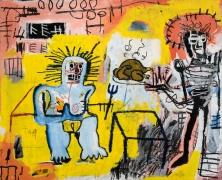 Jean-Michel Basquiat Arroz con Pollo