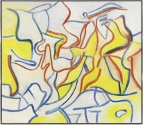Willem De Kooning  Untitled, 1986