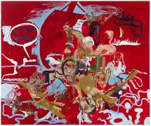 Martin Kippenberger, Untitled (from the series The Raft of Medusa), 1996oil on canvas, 78.74 x 94.49 inches (200 x 240 cm)© …