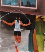 Eric Fischl  My Old Neighborhood: Jump Roping