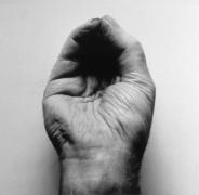 John Coplans Self Portrait (Front Hand, Pinched) 1988