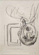 Georg Baselitz, Untitled (View Out of the Window)