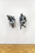 Juan Muñoz Two Men with Harmonica, 2001