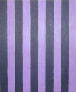 Sherrie Levine  Untitled (Two Inch Stripes #7)  1986