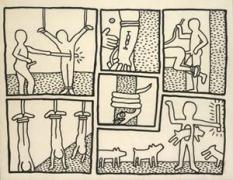 Keith Haring, Untitled(Jan. 16, 1981), 1981