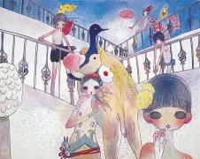 Aya Takano, Beyond Mutekirou- The Lights, 2009