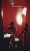 Laurie Simmons, Red Bathroom, 1982