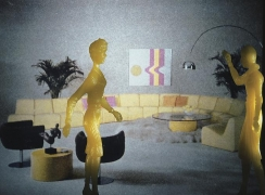Laurie Simmons, Yellow Living Room, 1982
