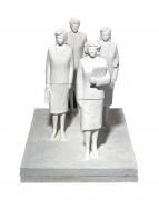 Fischli & Weiss 4 Hostessen (4 Stewardesses), 1988