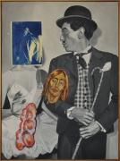 David Salle Farce, 1992