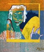 Martin Kippenberger, Eierverliebte (Infatuated Egg), 1996