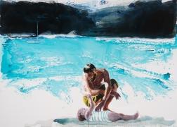 Eric Fischl, A Moment of Tenderness