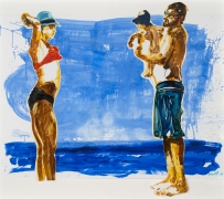 Eric Fischl Untitled, 2019 acrylic and oil on photo paper 71 x 82 inches (180.3 x 208.3 cm)