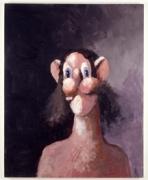 George Condo, Night Portrait, 2001