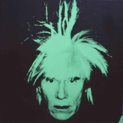 Andy Warhol Self Portrait (Fright Wig), 1986