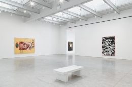 Installation view summer exhibition chelsea space