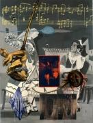 David Salle False Queen, 1992
