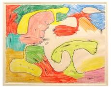 Carroll Dunham, Untitled, 1990