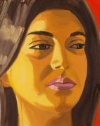 David Salle, Untitled (portrait 16)