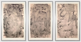 Christopher Wool Three Women (Medium I, II, III), 2005