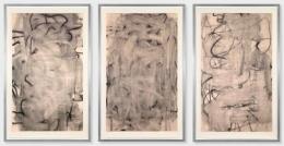 Christopher Wool Three Women (Medium I, II, III), 2005