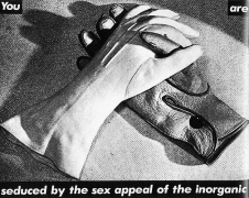 Barbara Kruger Untitled (You are seduced by the sex appeal of the inorganic), 1981