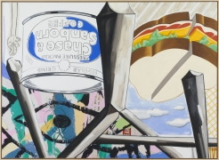 David Salle  The Old Bars (after MH), 2017