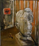 Albert Oehlen  Fruhstuck Now (Self Portrait), 1984